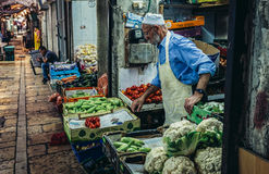 Market in Jerusalem Stock Photos