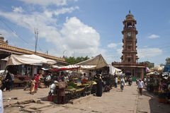 Market in Jodhpur Stock Image
