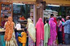 Market in Jodhpur, Rajasthan Royalty Free Stock Photo