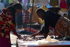 Market in Kalaw, Myanmar Stock Photography