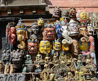 Market in Kathmandu Royalty Free Stock Images