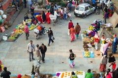 Market in Kathmandu, Nepal Stock Photo