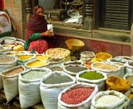 Market, Kathmandu, Nepal Stock Images