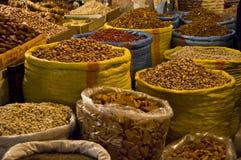 market kryddan Royaltyfria Foton