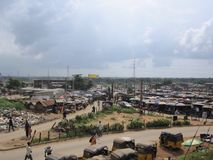 Market in Lagos, Nigeria Royalty Free Stock Photo