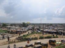 Market in Lagos, Nigeria royalty free stock photo