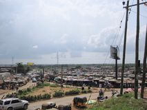 Market in Lagos, Nigeria Stock Images