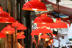 Market lamps Royalty Free Stock Photo