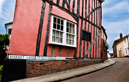 Market Lane in Lavenham Royalty Free Stock Image