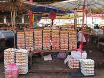Market in Laos Royalty Free Stock Photos