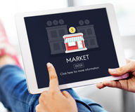 Market Launch Startup New Business Concept Stock Photo