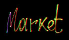 Market light Stock Image
