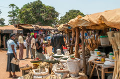 Market in Livingstone royalty free stock photo