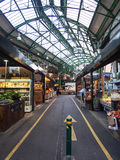 Market in London. Market stalls in london Stock Image