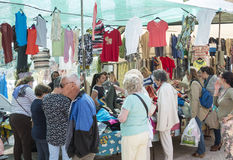 Market in Loule Royalty Free Stock Photos