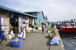 Market in Male. Republic of the Maldives Stock Photography
