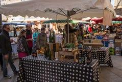 Market Marche Aix-en-Provence Stock Images