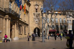 Market Marche Aix-en-Provence Royalty Free Stock Photography