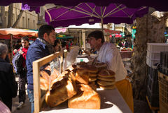 Market Marche Aix-en-Provence Stock Photography