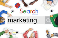 Market Marketing Advertisement Commercial Consumer Concept Stock Photo