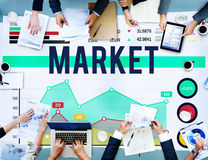 Market Marketing Data Analysis Consumer Concept Stock Photography
