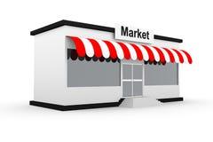 Market model building Stock Images