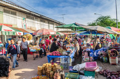 Market in the Morning Royalty Free Stock Photography