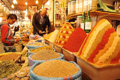 Market in Morocco Stock Photo