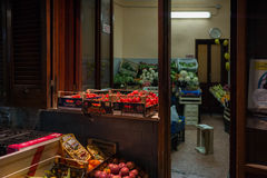 Market Naples, Italy. Stock Photos