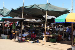 Market in Nazca Royalty Free Stock Image