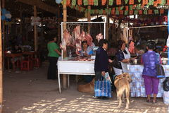 Market in Nazca Royalty Free Stock Photography