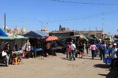 Market in Nazca Stock Image