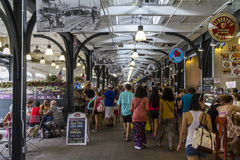 Market in New Orleans Royalty Free Stock Photo