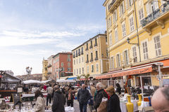 Market in Nice, France Stock Images