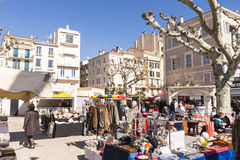 Market in Nice, France Royalty Free Stock Photo