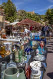 Market in Nice - South of France Royalty Free Stock Photography
