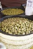 Market olives Royalty Free Stock Photo