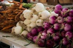 Market Onions Royalty Free Stock Photo