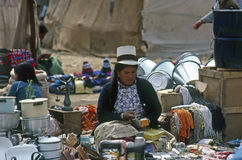 Market, Peru Royalty Free Stock Images