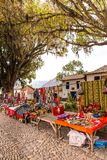 Market ,Peru,South America. Stock Photos