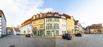 Market place in Bad Frankenhausen Royalty Free Stock Photo