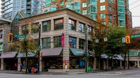 Market Place, Burrard St, Vancouver, BC Stock Images