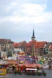 Market place erfurt Stock Photo