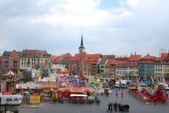 Market place erfurt Royalty Free Stock Photo