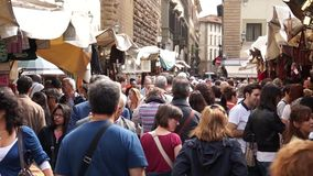 Market Place in Florence (9 of 11) stock video footage