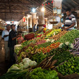 Market-place galle sri lanka Royalty Free Stock Images