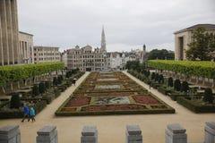 Market Place grande Bruxelas fotografia de stock