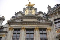 Market Place grande Bruxelas Foto de Stock