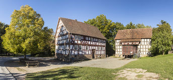 Market place at Hessenpark in Neu Anspach Royalty Free Stock Photo