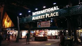 Market Place international Photographie stock libre de droits